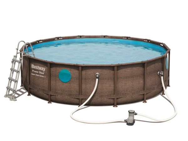 Power Steel™ Swim Vista Series™ Frame Pool Galerie