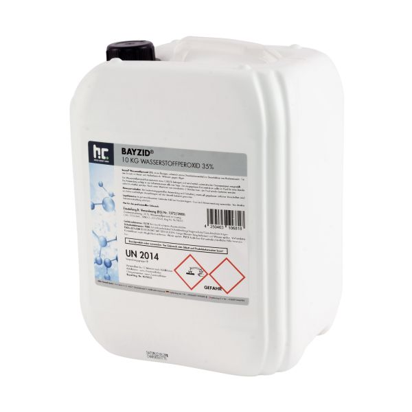 Wasserstoffperoxid 35% 10l Kanister